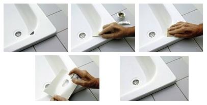 Ремонт сколов ванны