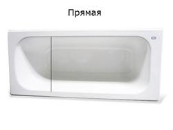 акриловый вкладыш в ванну в Минске прямая