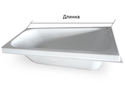 акриловый вкладыш в минске длина ванны